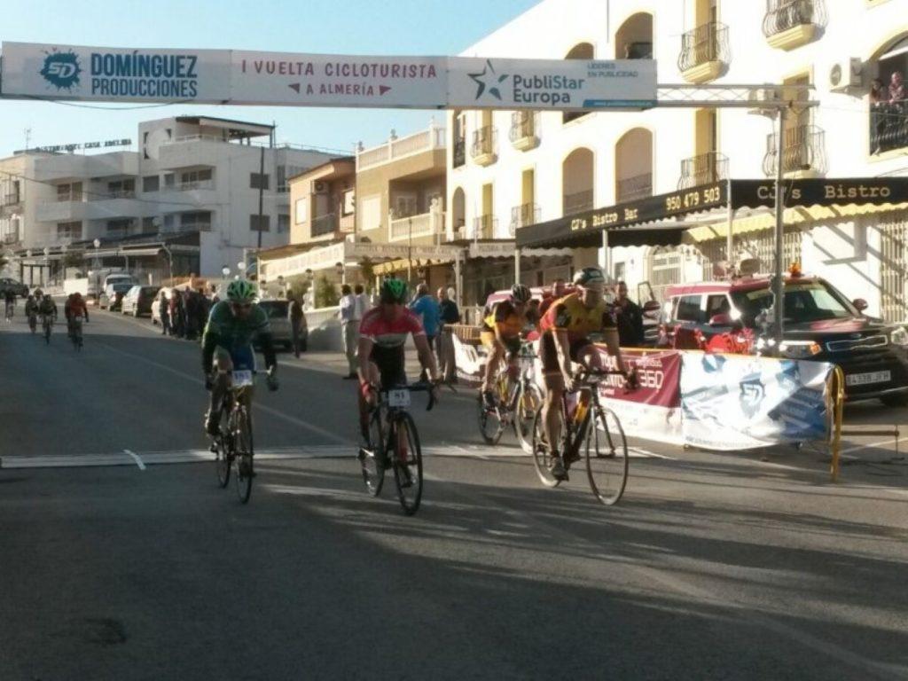 Radrennen Spanien Vuelta Cicloturista Almeria Ziel Turre