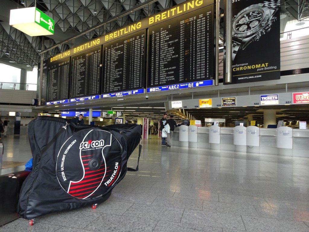 Scicon Radkoffer Flughafen Frankfurt