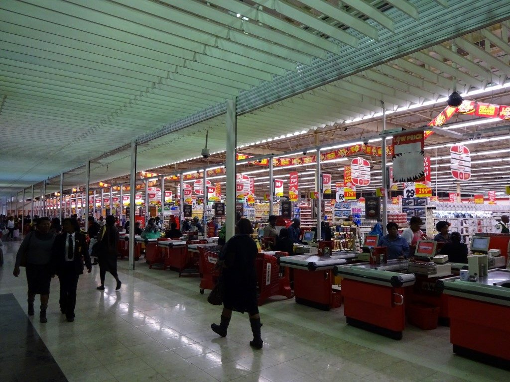 Shoprite Green Acres Shopping Center Port Elizabeth Südafrika