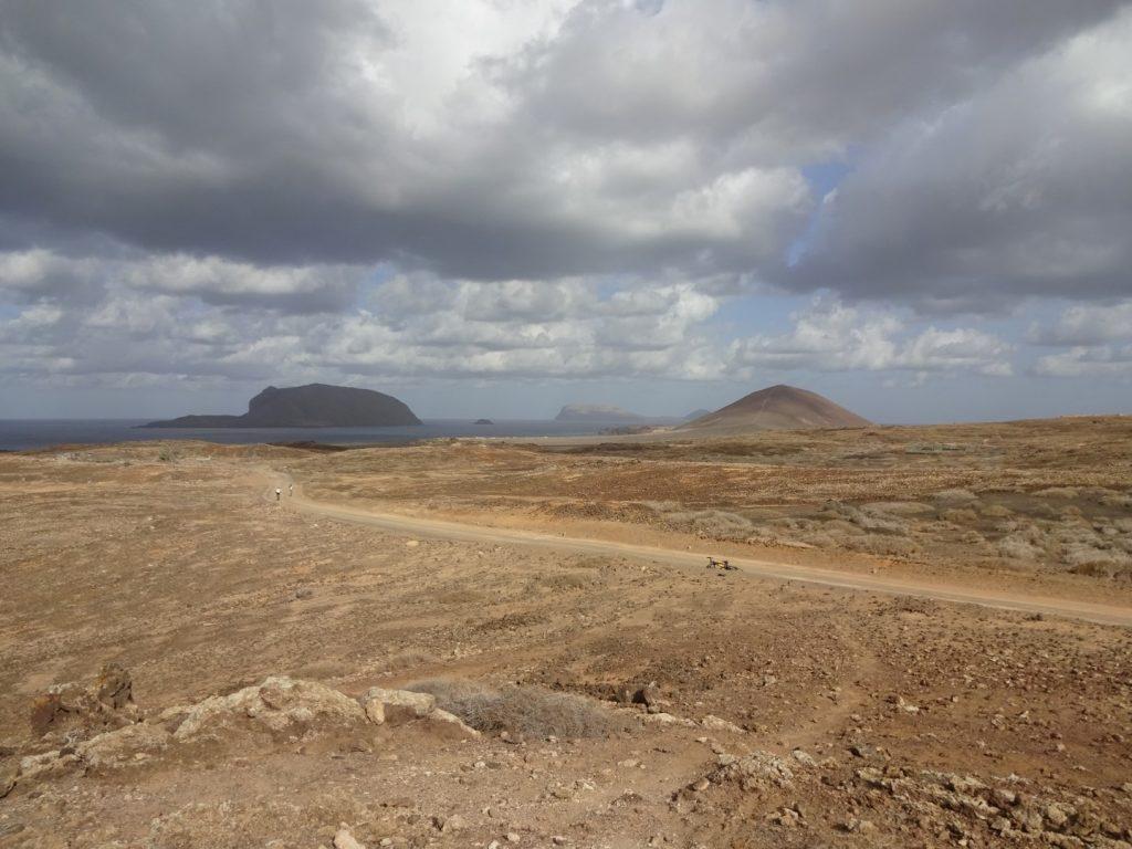 Straße Landschaft La Graciosa