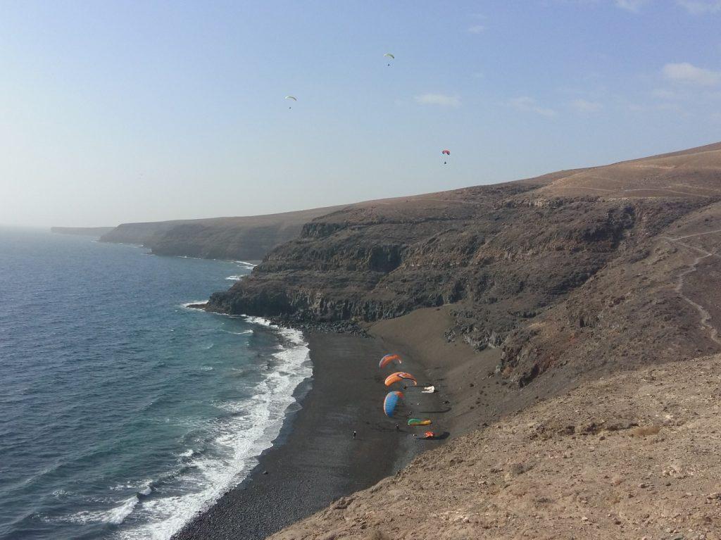 Paragliding Playa Quemada Lanzarote