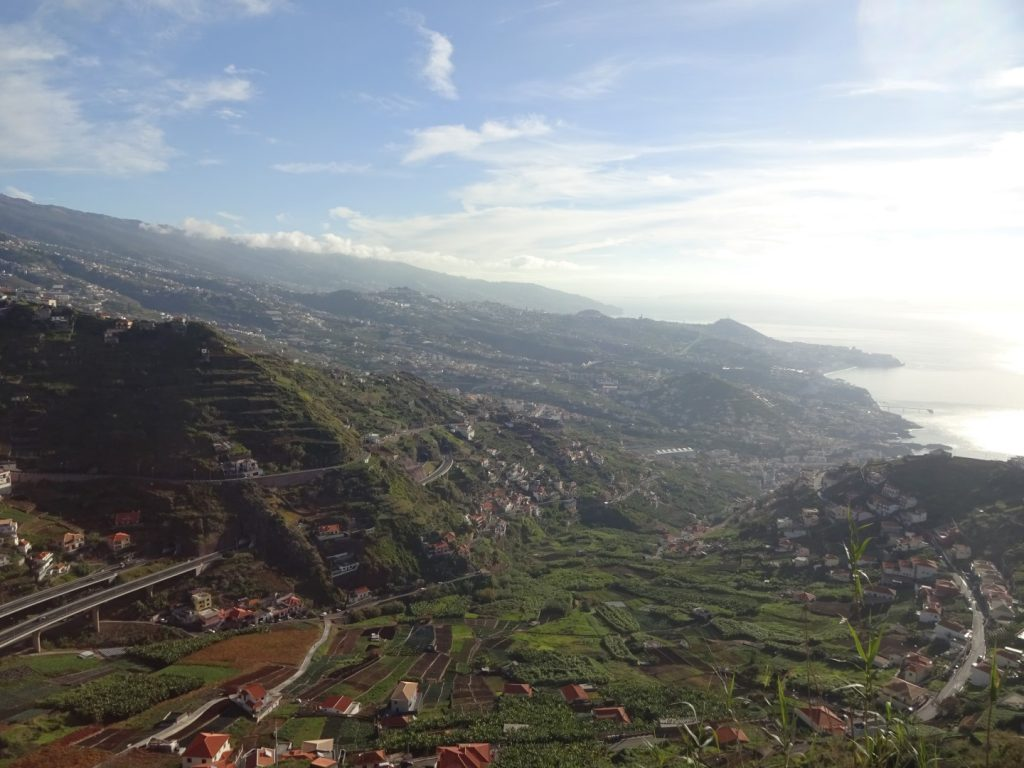 Aussicht Cabo Girao Berge Küste Madeira