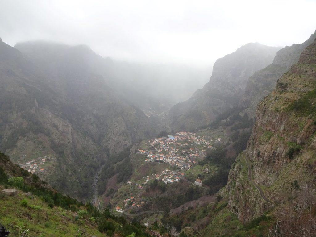 Aussicht Berg Curral das Freiras Madeira