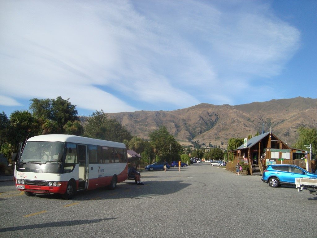 Alpine Connections Connexions Bus Wanaka Queenstown Südinsel Neuseeland