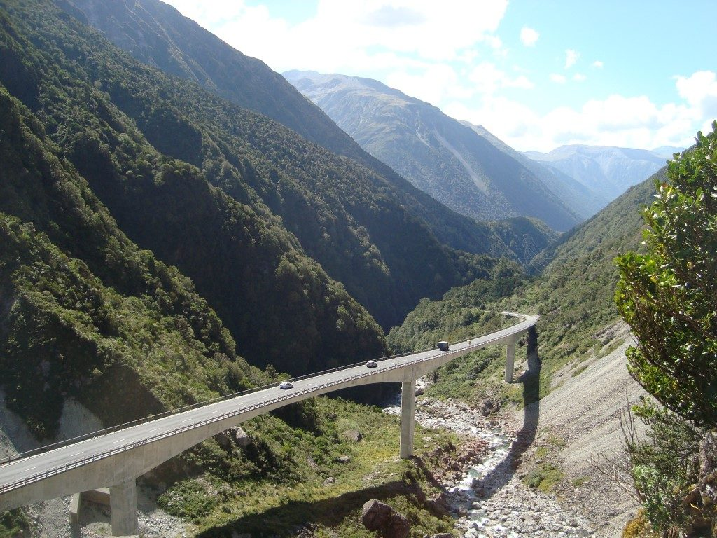 Otira Arthurs Pass Südinsel Neuseeland