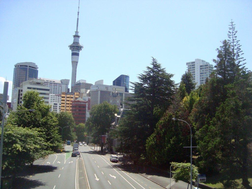 Skytower Auckland Nordinsel Neuseeland