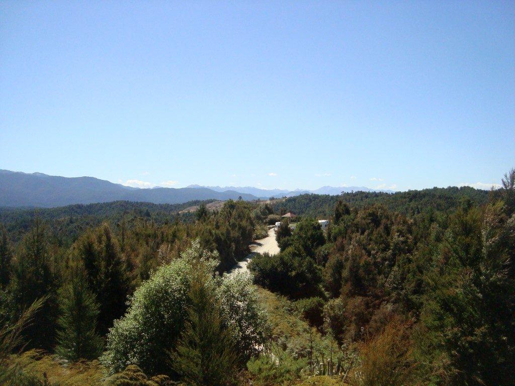 Aussicht Berge Südalpen Südinsel Neuseeland