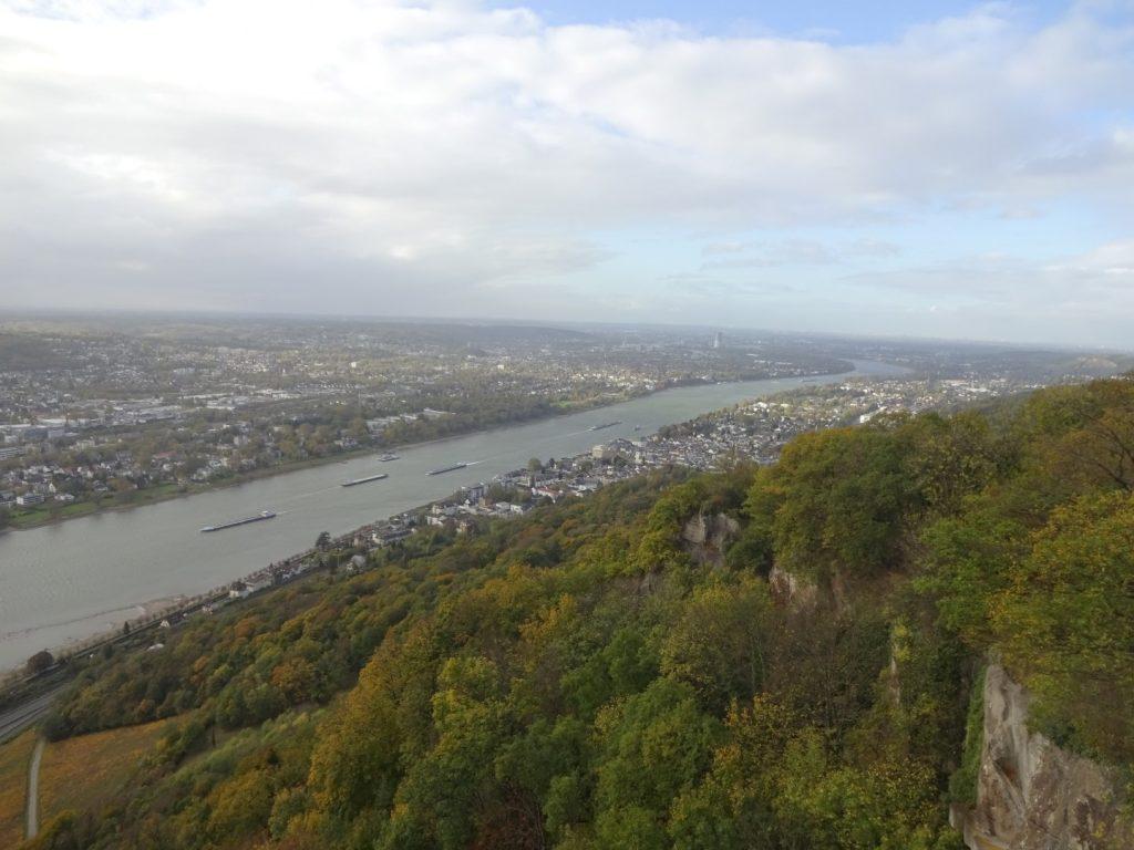 Aussicht Burg Drachenfels Königswinter