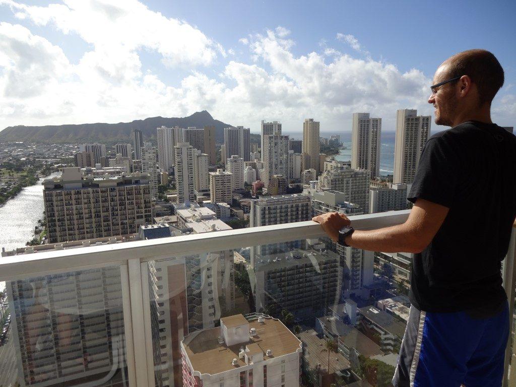 Skyline Ausblick Seaside Honolulu Waikiki Oahu Hawaii