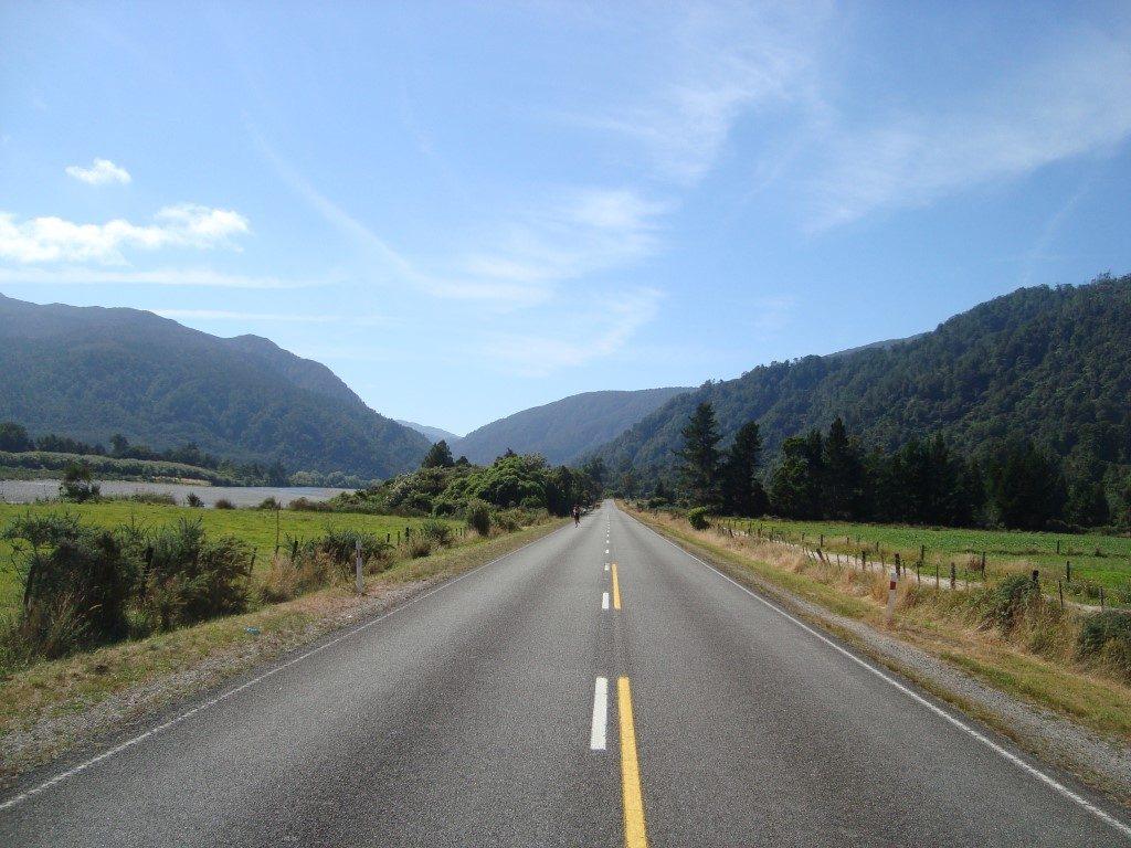 Buller Gorge Marathon Westport Südinsel Neuseeland