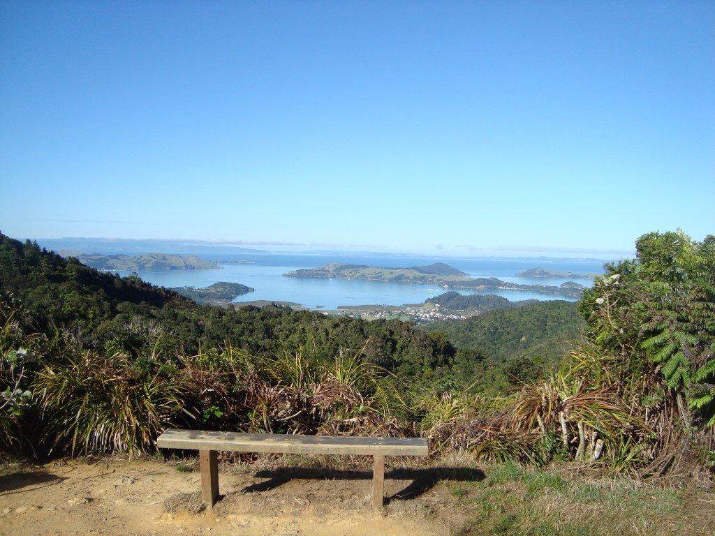Coromandel Town Aussichtspunkt Aussicht Nordinsel Neuseeland