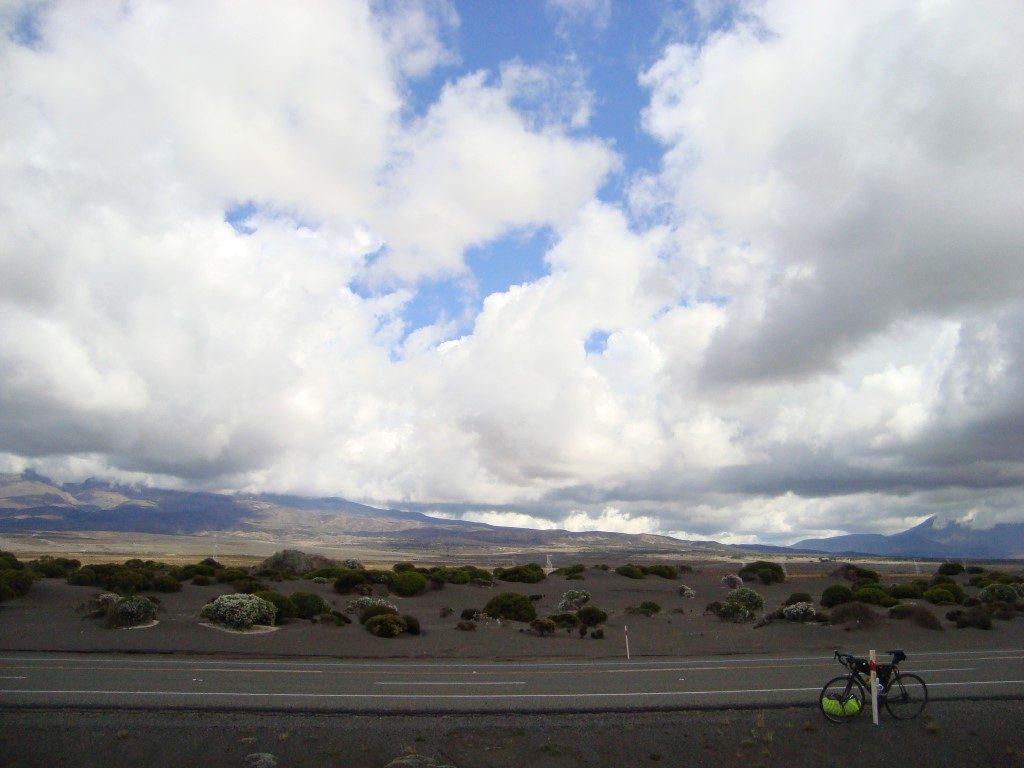 Desert Road Vulkan Ruapehu Nordinsel Neuseeland