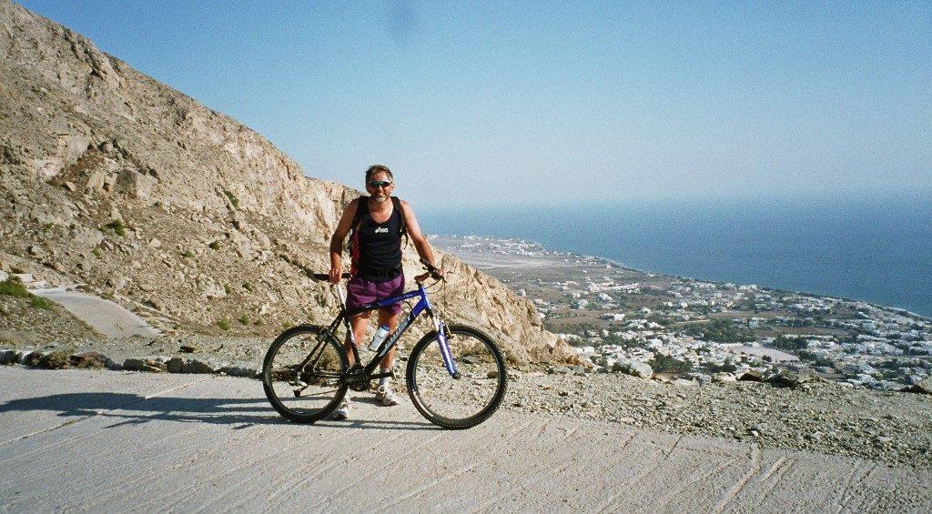 Mountainbike Kykladen Griechenland Dietrich Eberle