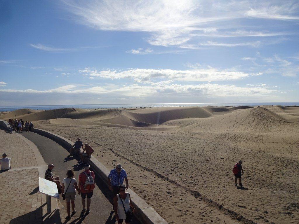 Dünen Dunas de Maspalomas Sand Gran Canaria
