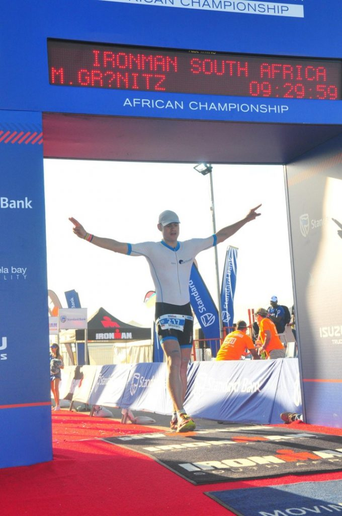 Finish Ziel Ironman Südafrika 2016 Port Elizabeth