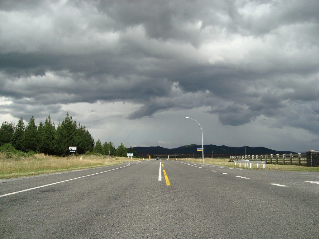 Rangitaiki Gewitter Nordinsel Neuseeland