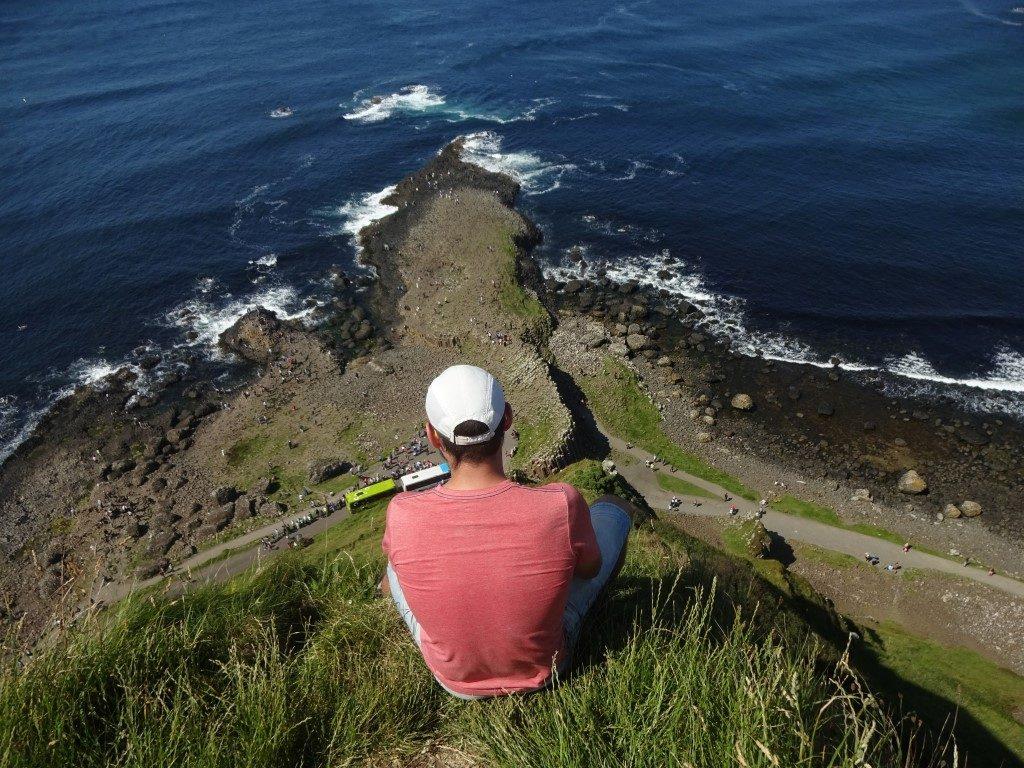 Giants Causeway Trail Blick Aussicht Irland