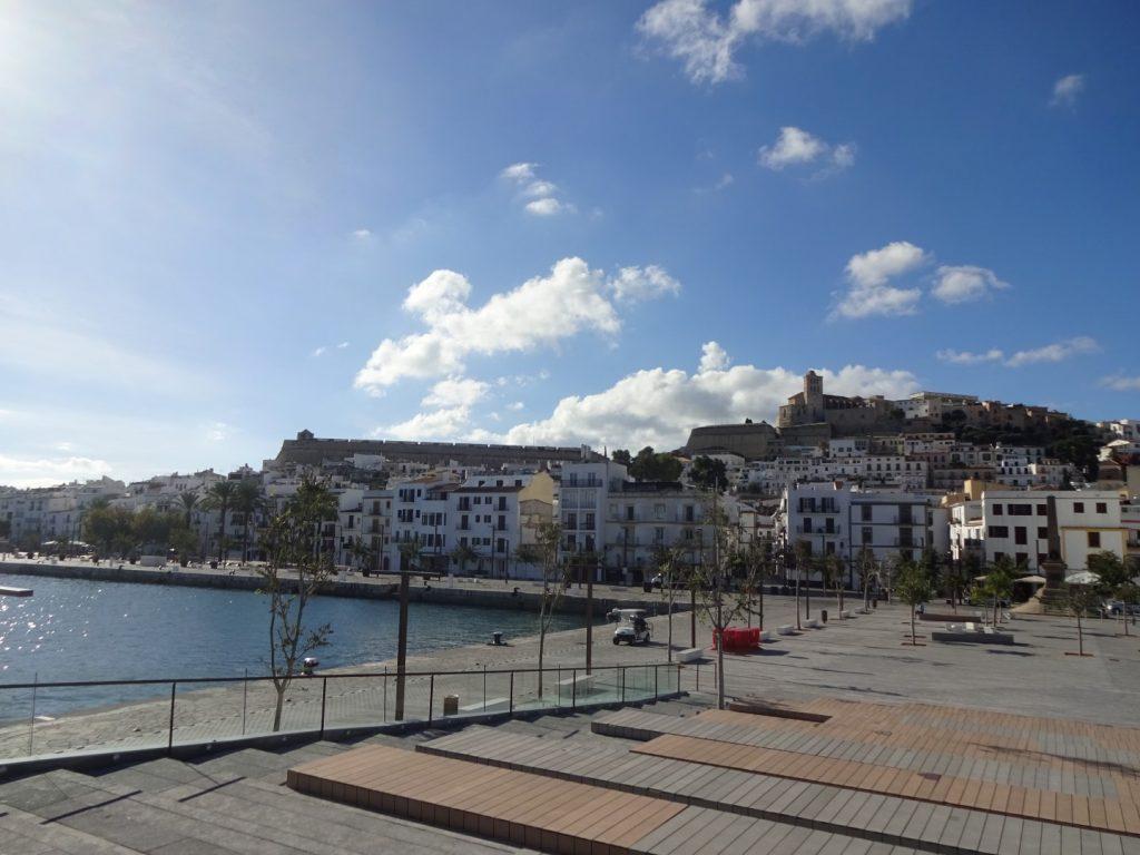 Hafen Stadt Festung Eivessa Ibiza