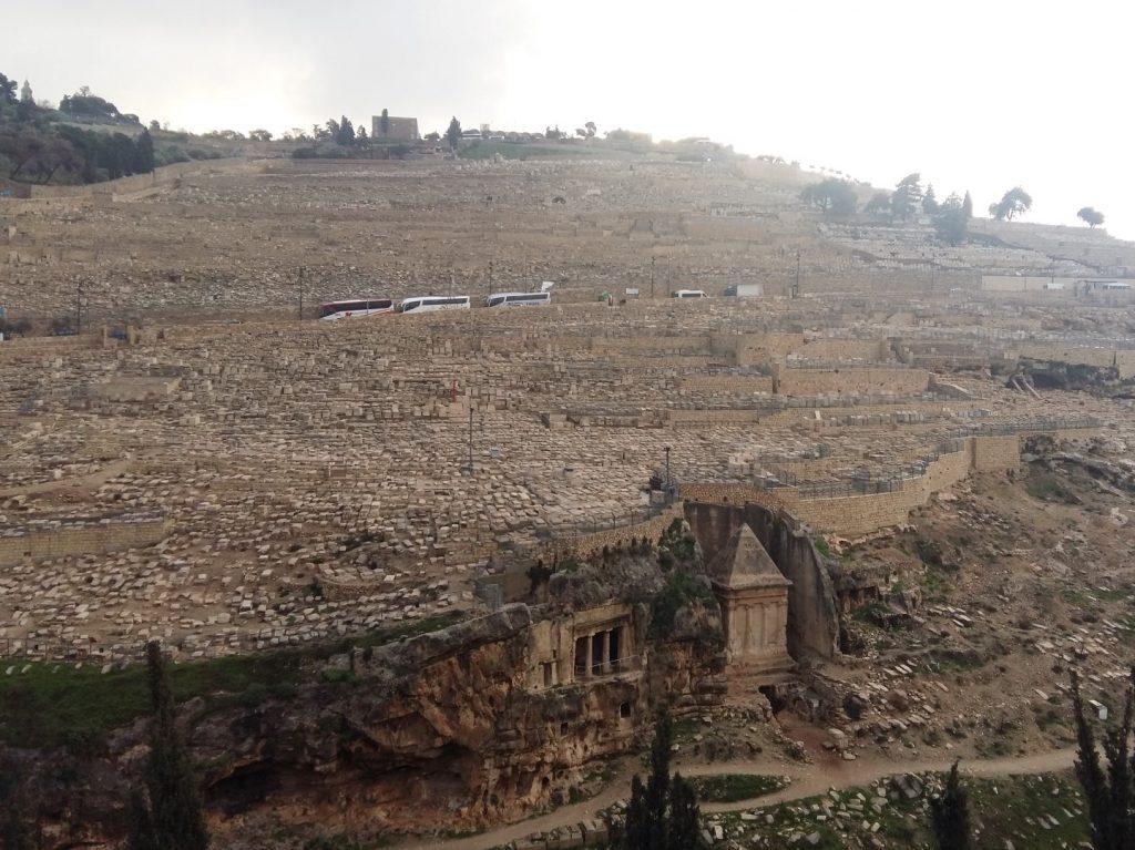 Gräber Ölberg Jerusalem Israel