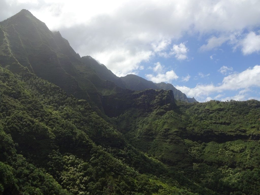 Kalalau Trail Na Pali Coast Kauai Hawaii