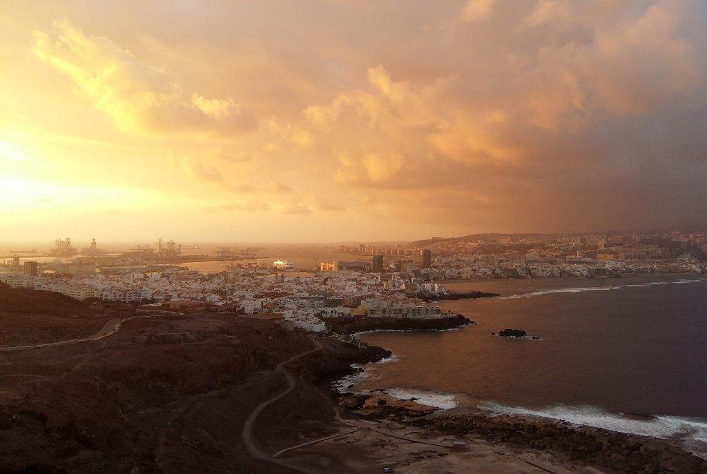 La Isleta Las Palmas Sonnenaufgang Gran Canaria