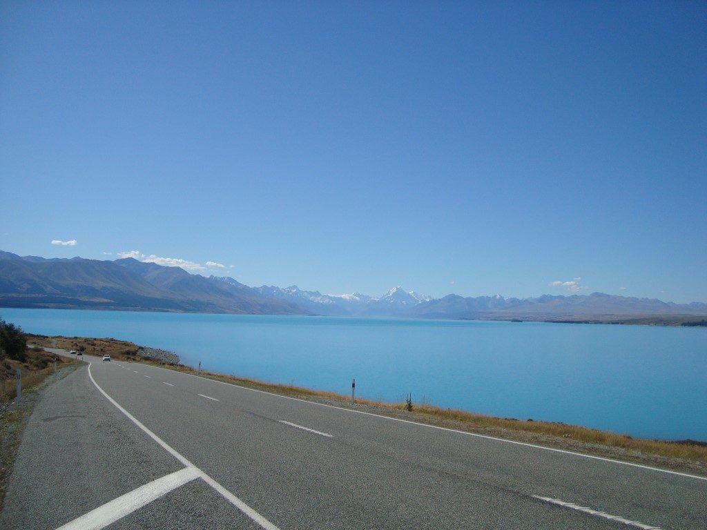 Lake Pukaki Mount Cook Südalpen Südinsel Neuseeland