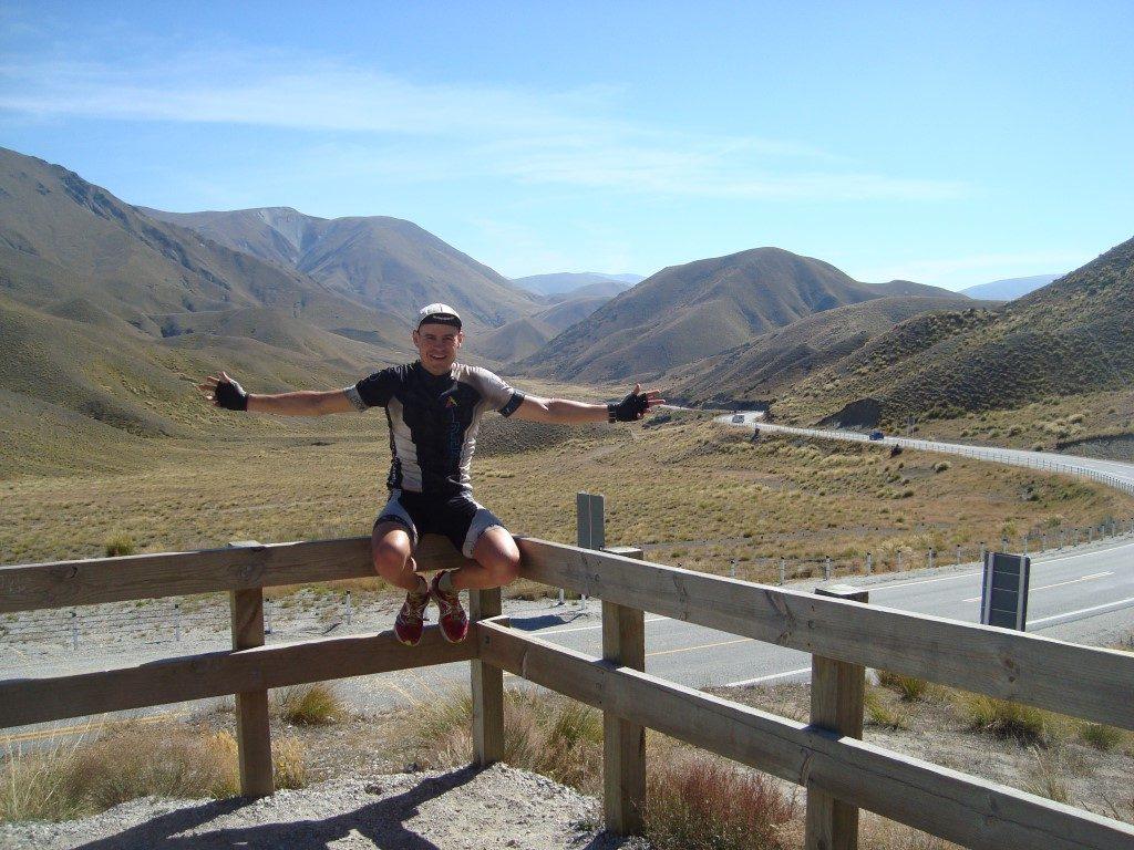 Lindis Pass Südinsel Neuseeland