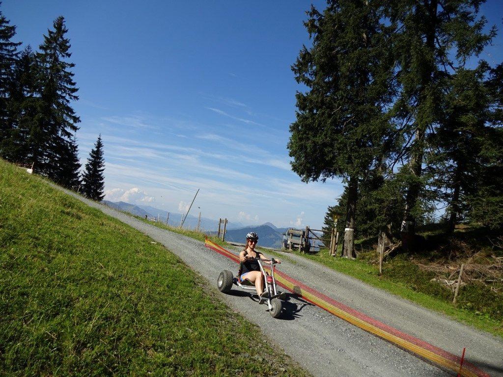 Mountain Cart Piste Strecke St. Johann Tirol Österreich