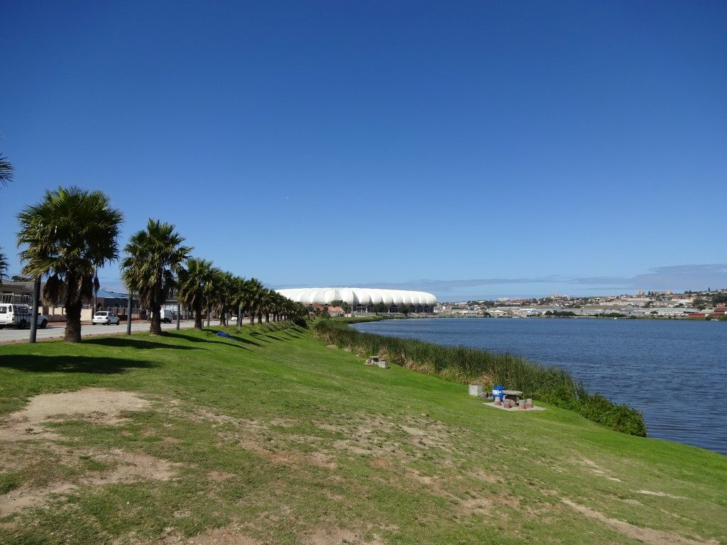 Nelson Mandela Bay Stadion North End Lake Port Elizabeth Südafrika