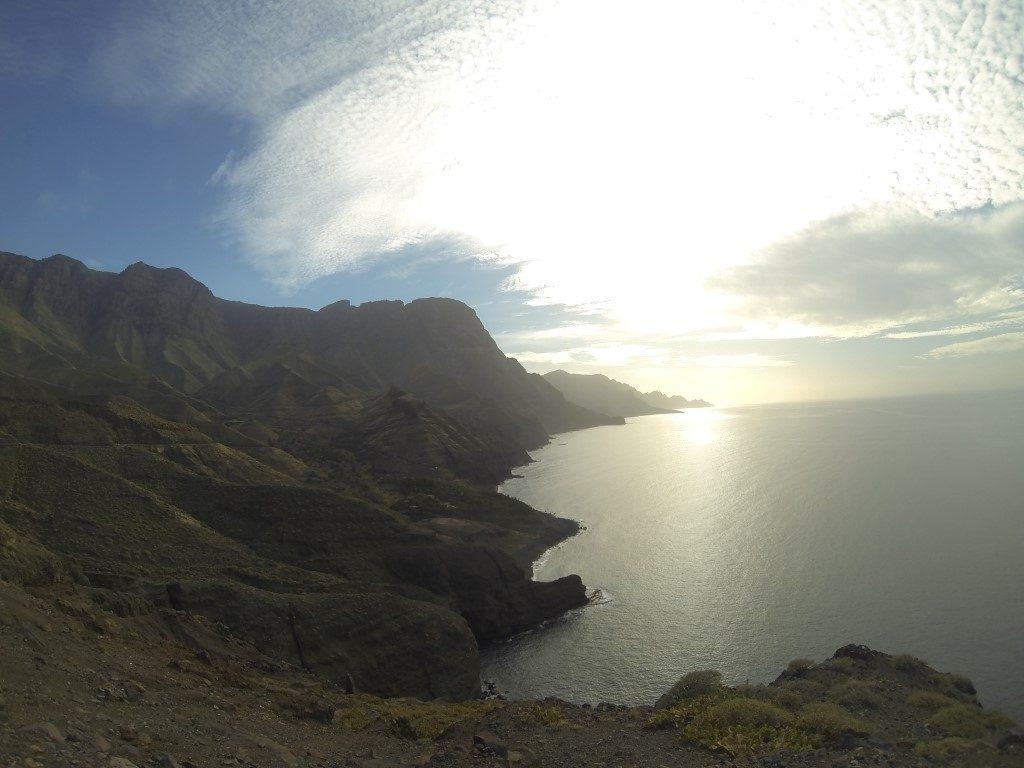 Ostküste steil Tamadaba Natural Park Gran Canaria