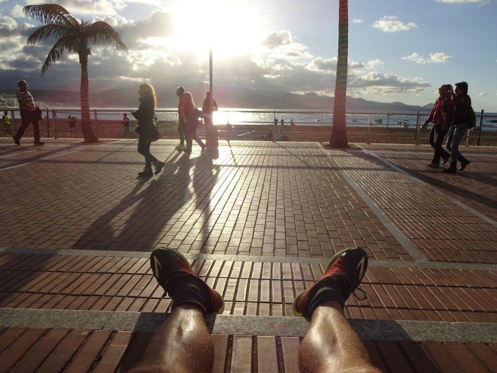 Strand Promenade Playa de las Canteras Las Palmas Gran Canaria