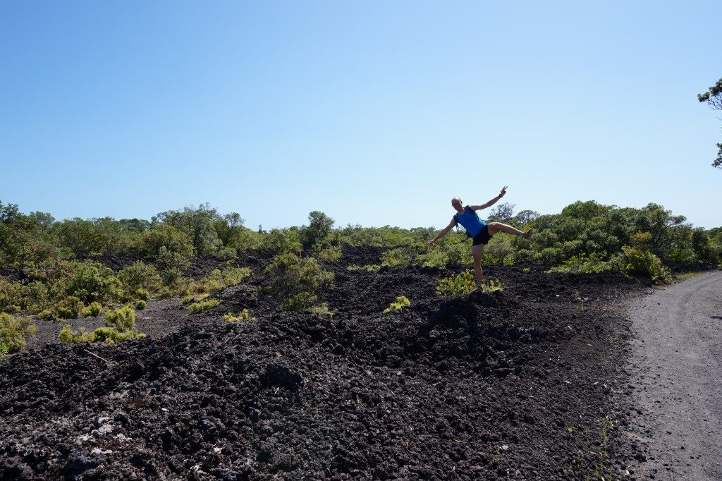 Rangitoto Island Vulkan Vulkangestein Vulkanlandschaft Nordinsel Neuseeland