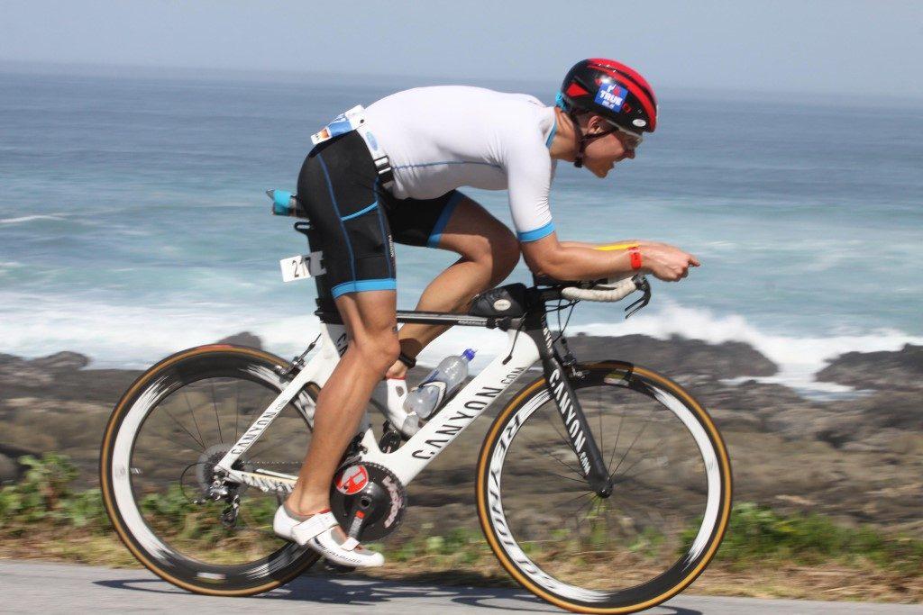 Radfahren Rad optimale perfekte Sitzposition Aerodynamik Ironman Südafrika 2016 Port Elizabeth
