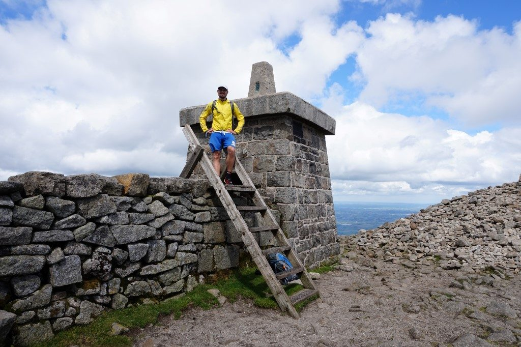 Slieve Donard Gipfel Newcastle Irland