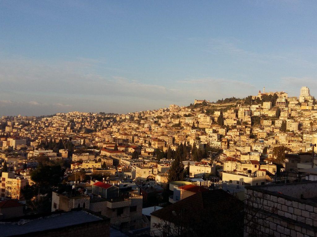 Sonnenaufgang Nazareth Israel