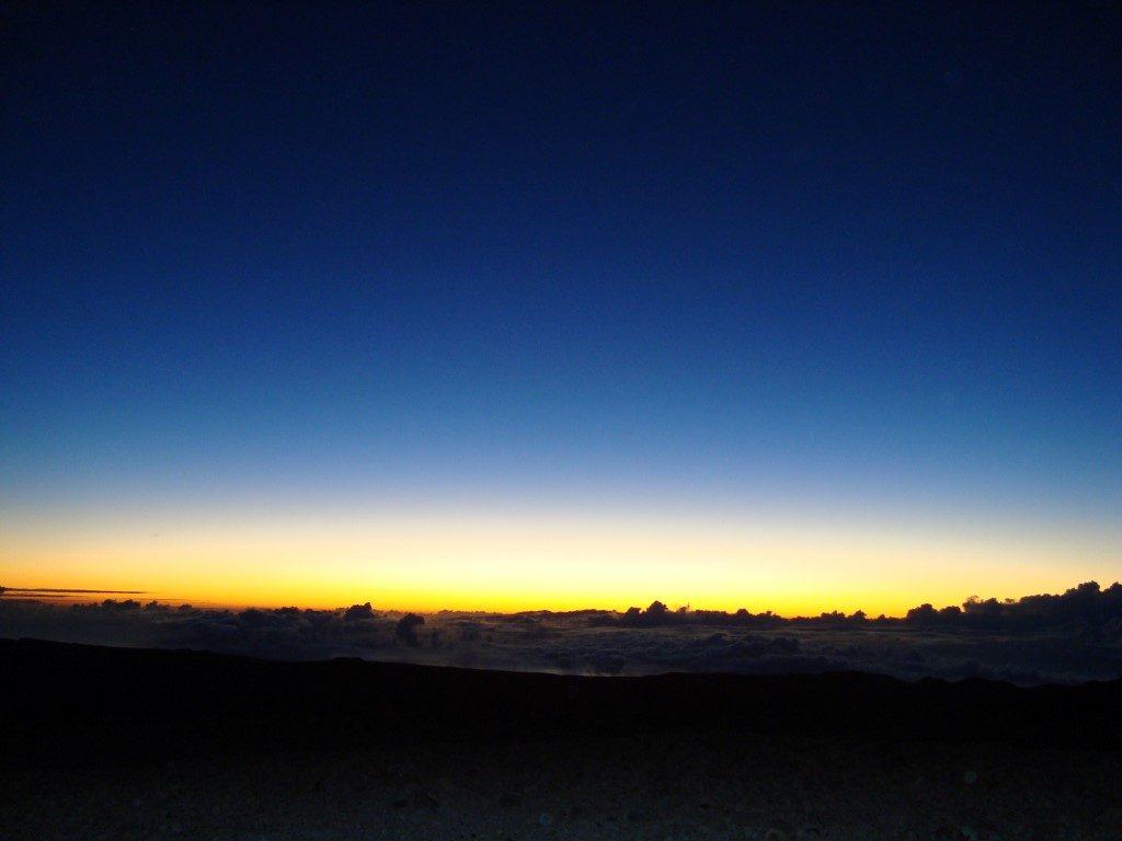 Sonnenaufgang Teide Teneriffa