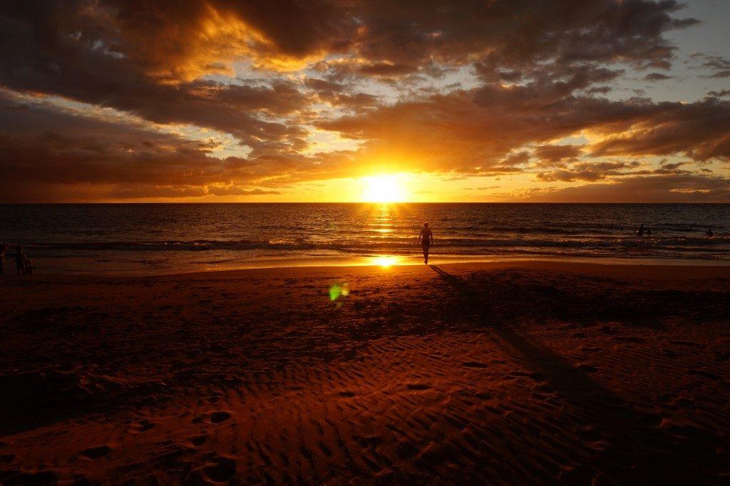 Sonnenuntergang Kihei Maui Hawaii