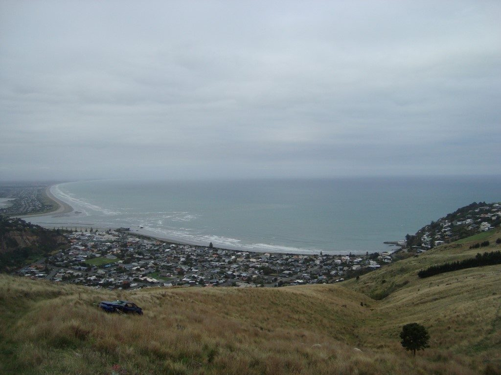 Sumner Aussicht Godley Park Südinsel Neuseeland
