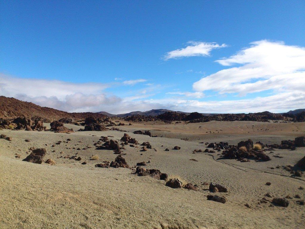 Teide Krater Mond Mondlandschaft Teneriffa