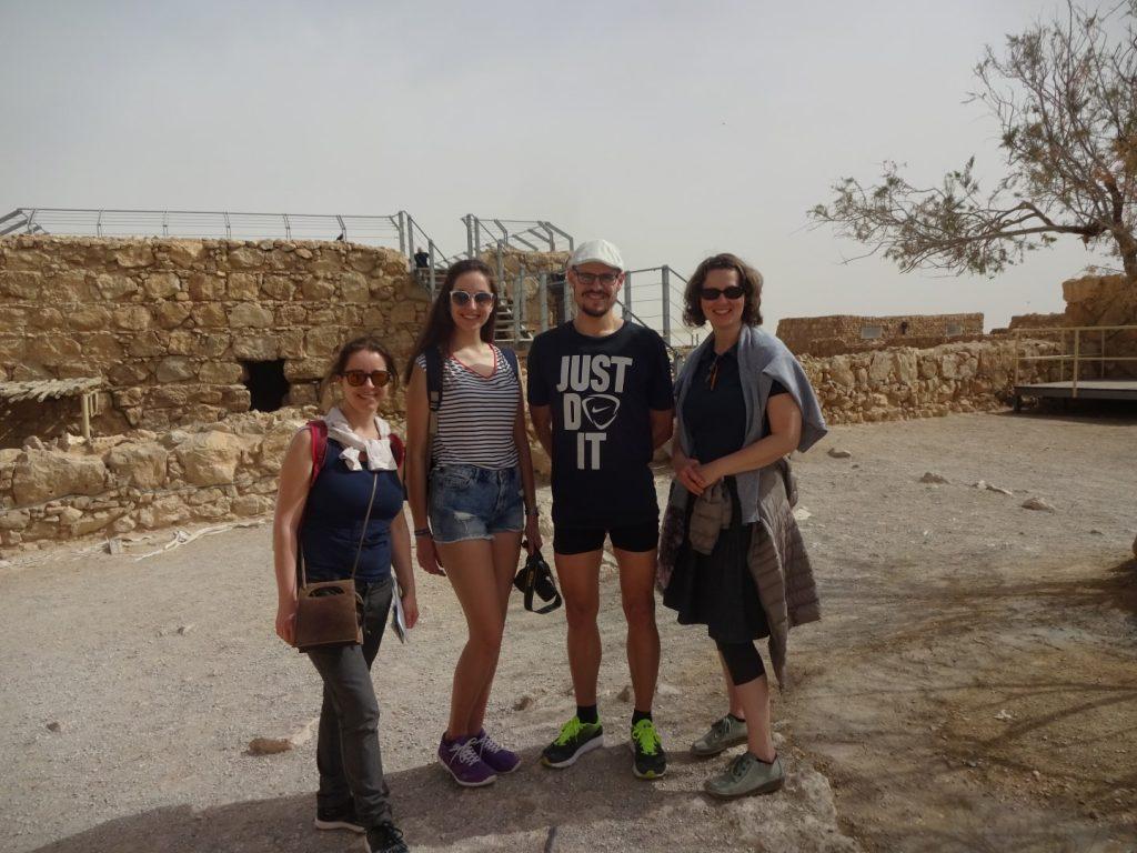 Treffpunkt Masada Israel