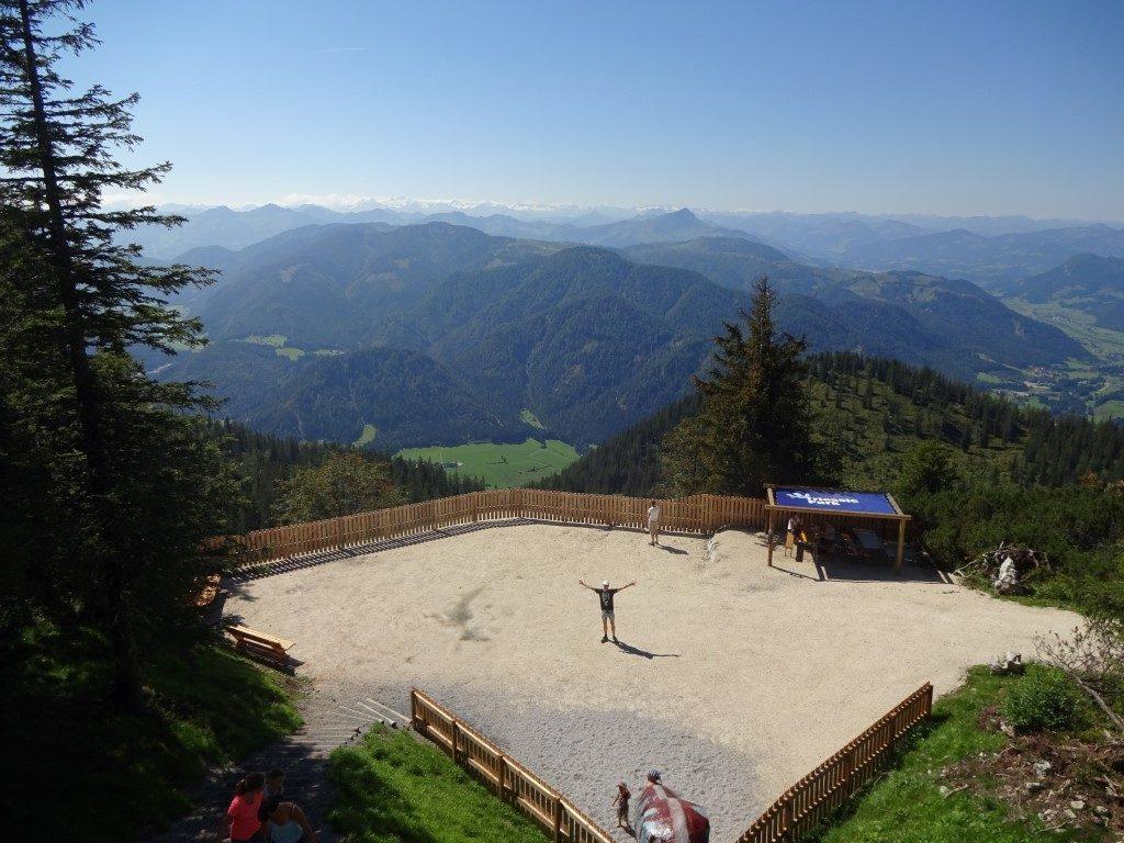 Triassic Park Rutsche Steinplatte Tirol Österreich