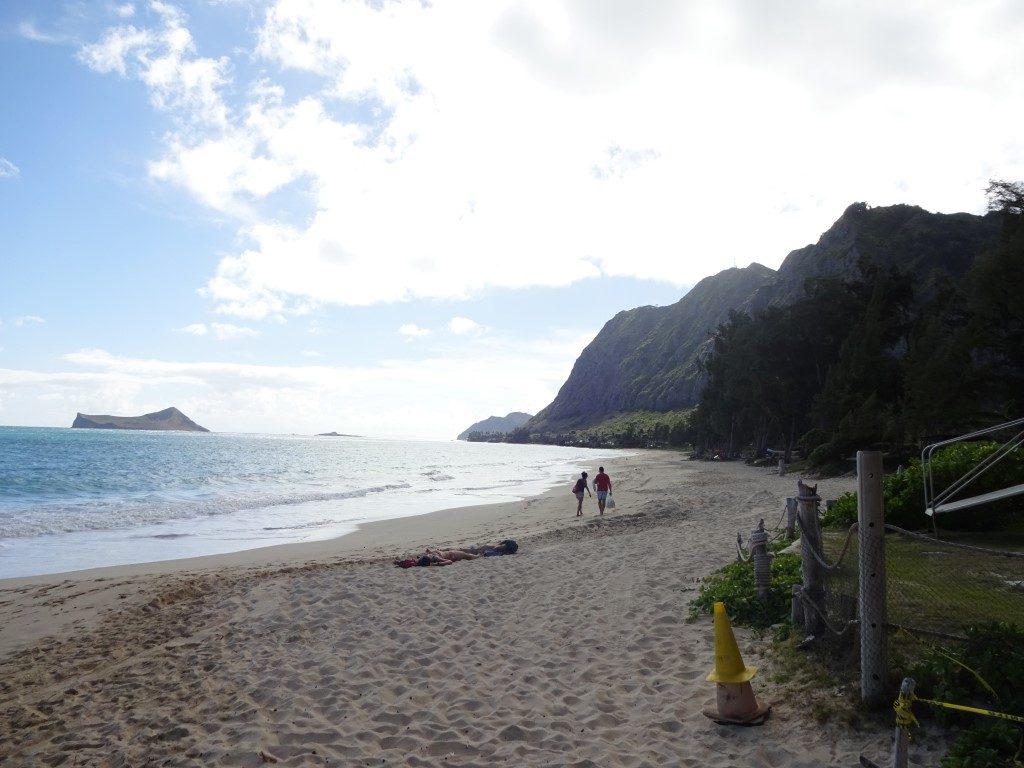 Waimanalo Beach Park Strand Oahu Hawaii