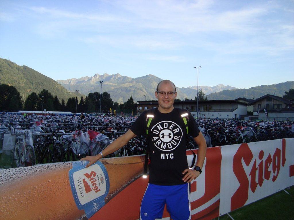 Wechselzone Ironman 70.3 WM Zell am See Österreich