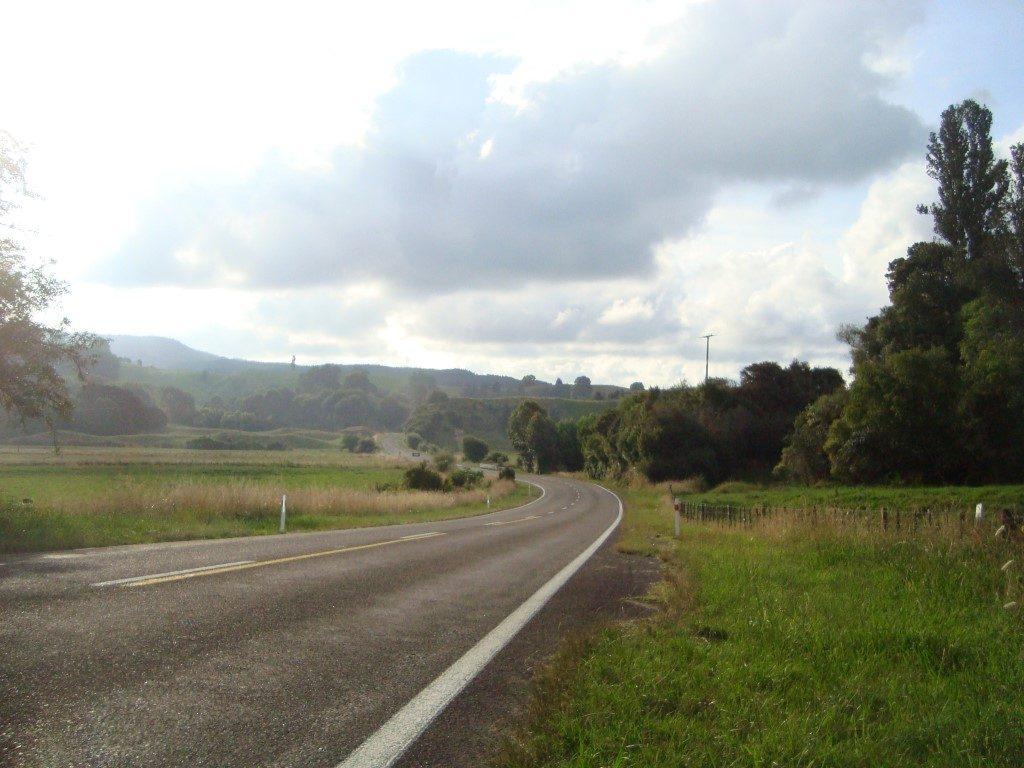 Straße Opotiki Whakatane Nordinsel Neuseeland