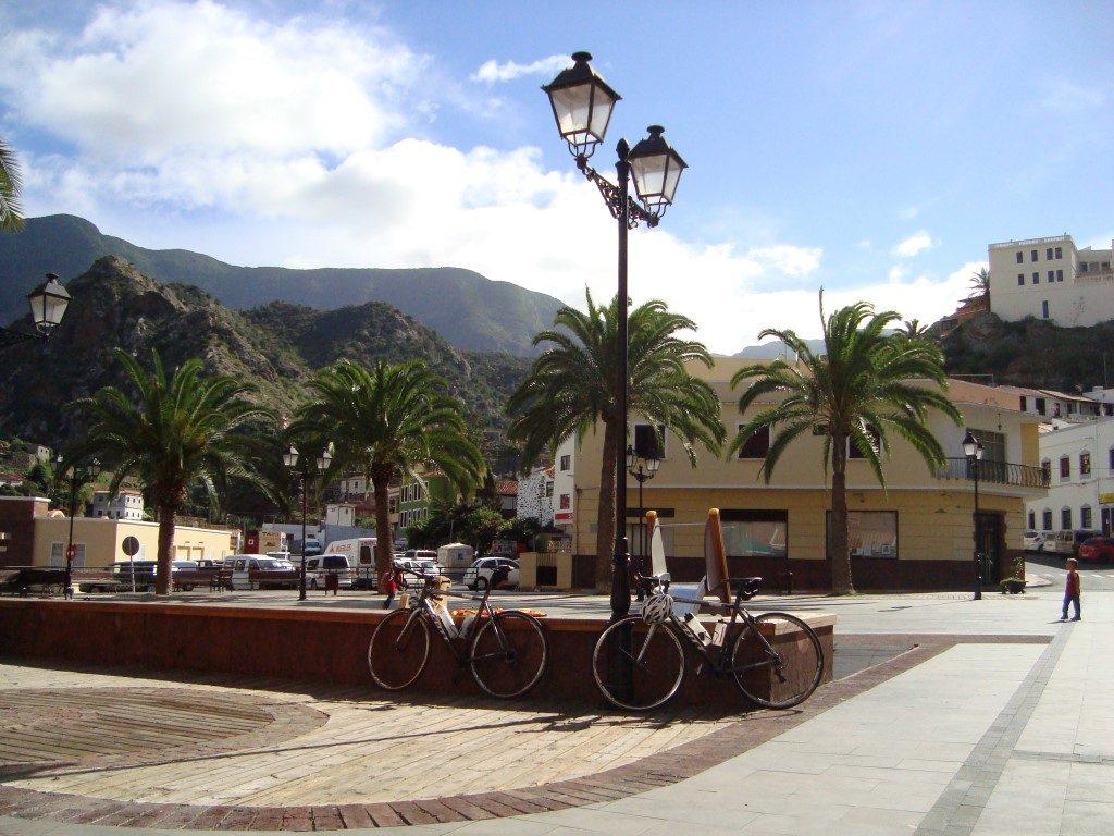 Vallehermoso La Gomera Kanarische Inseln