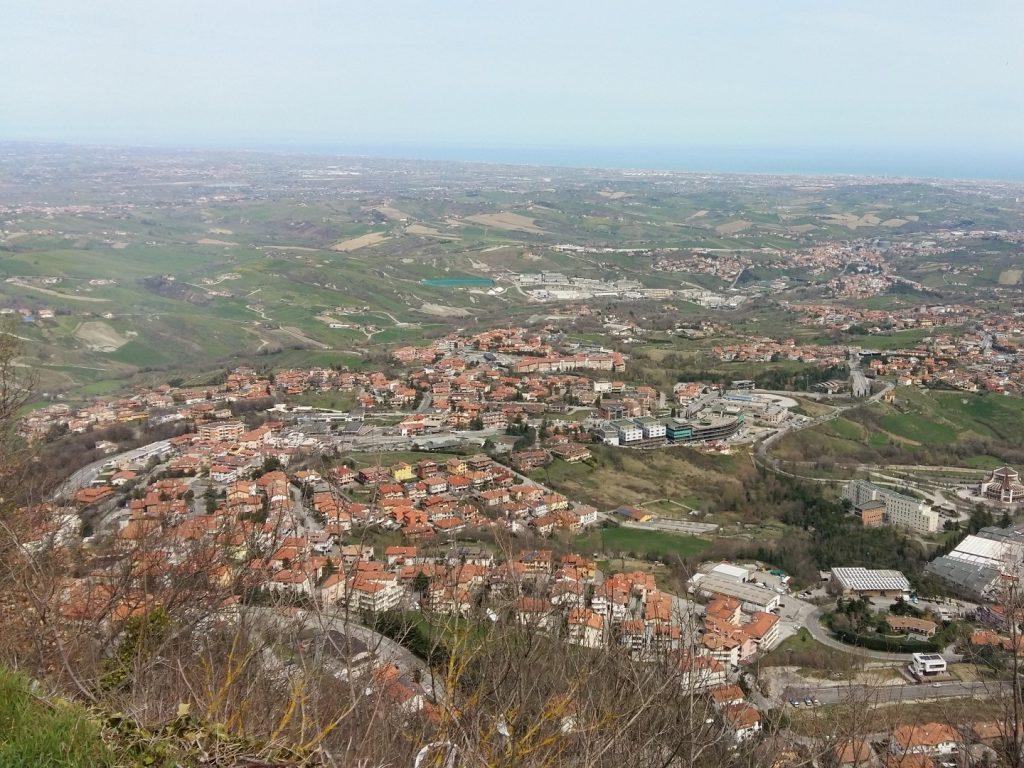 San Marino Titano Aussicht Italien