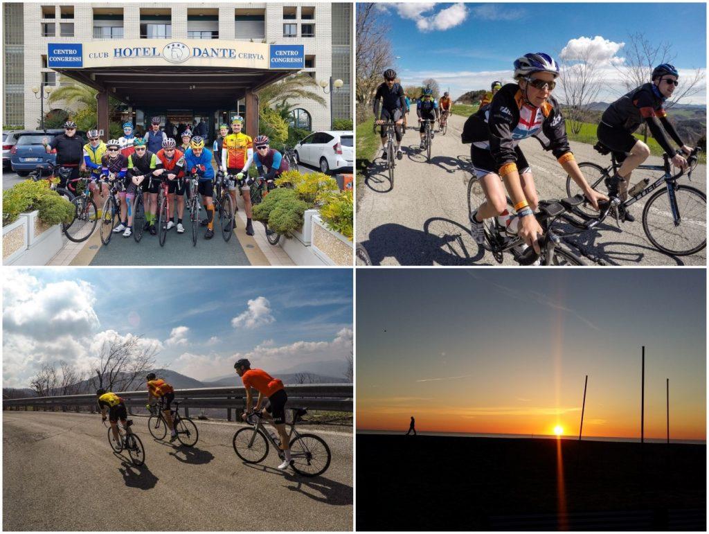 Trainingslager Triathlon Radfahren Laufen SV Würzburg 05 Italien Cervia