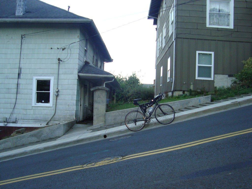 Astoria Berg steil Straße Hügel Oregon
