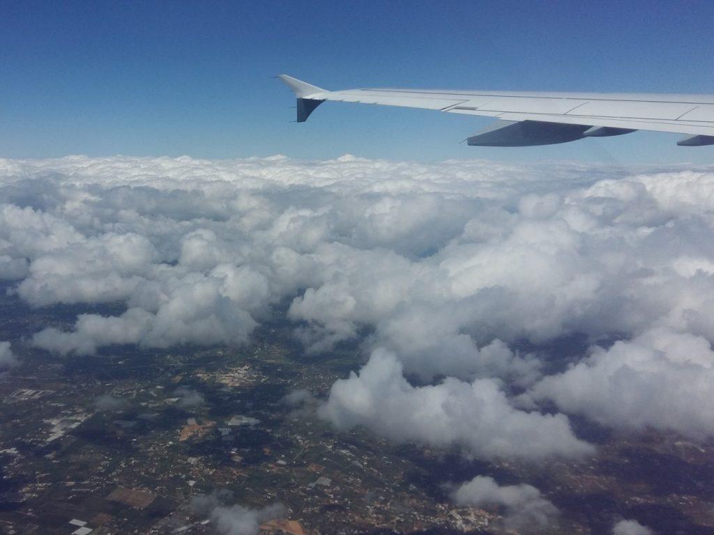 Flug Faro Algarve Portugal