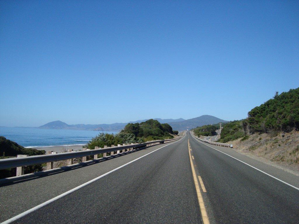 Highway 101 Küste Westküste Küstenstraße Crescent City Kalifornien